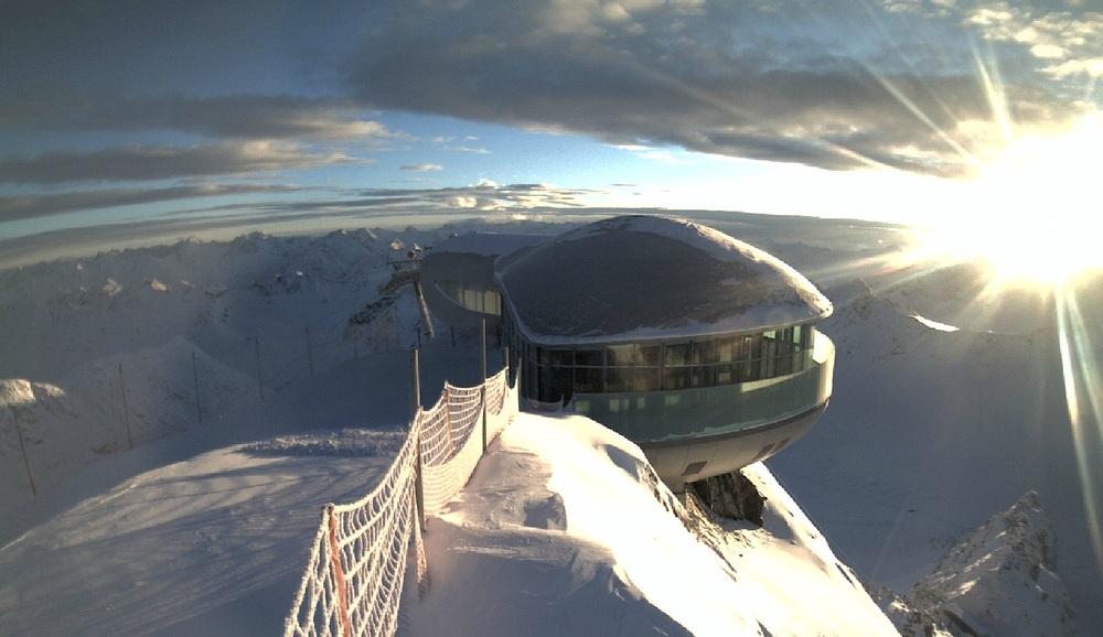Mountain Station Pitztal Glacier - ©Pitztaler Gletscherbahn