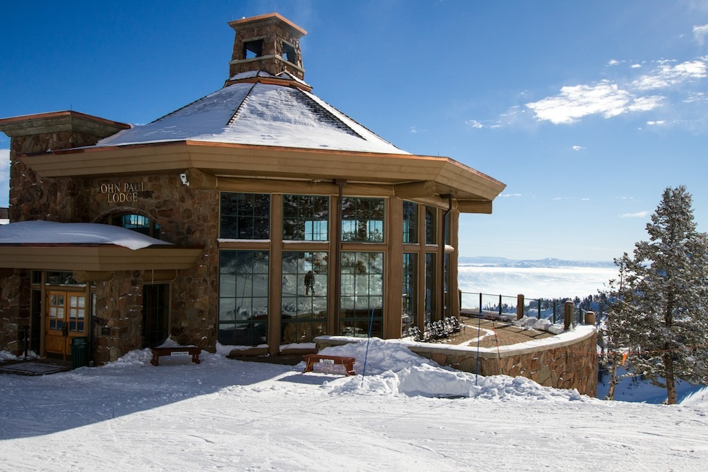 Named for WW II vet John Paul, the John Paul Lodge is located at 8,900 feet and provides the ultimate apres venue.