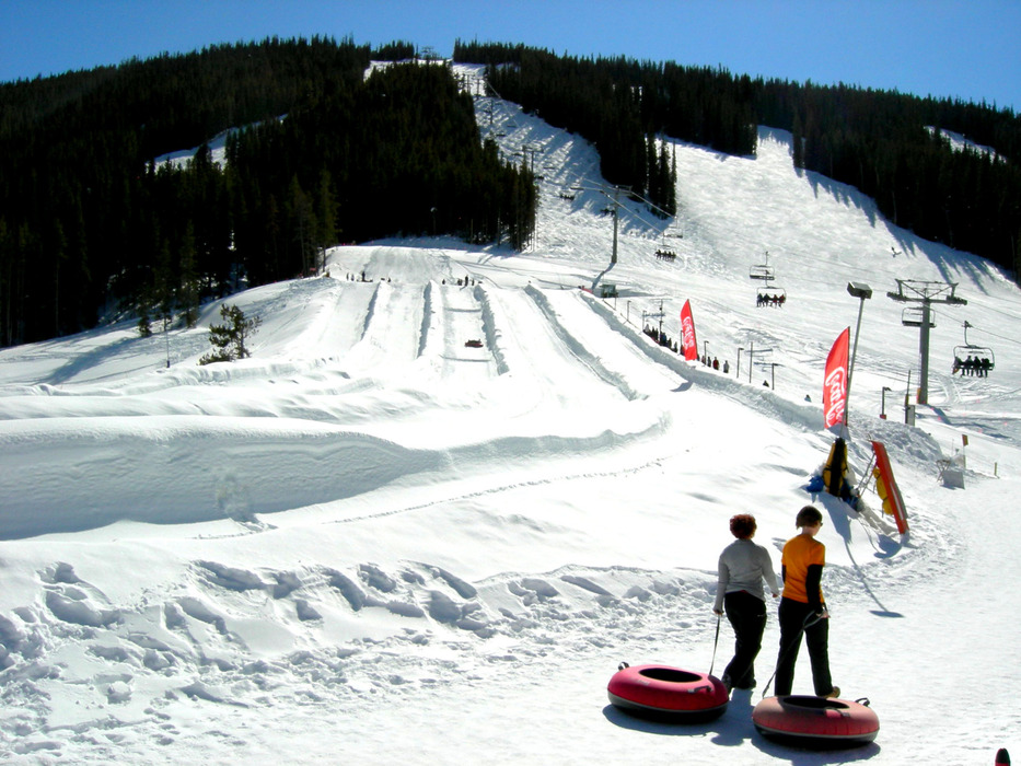 The Copper Mountain tubing hill is at East Village.  - ©Photo courtesy Shannon Lukens.