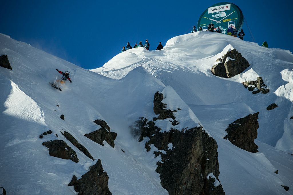 Freeride World Tour 2013 - Chamonix (FR) - ©freerideworldtour.com / Dom Daher