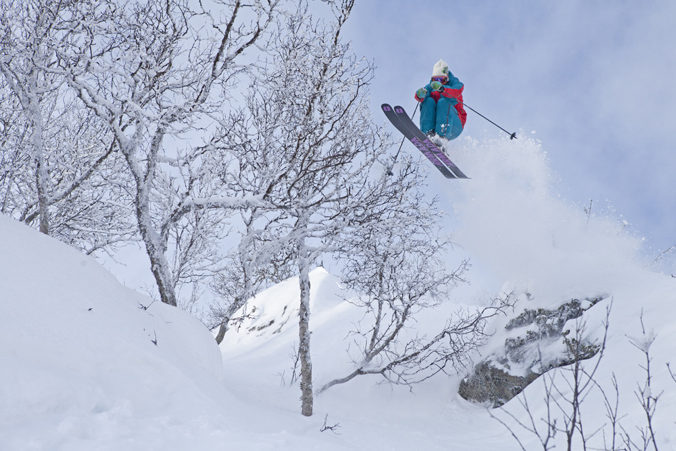 Powder in Hemsedal, Norway
