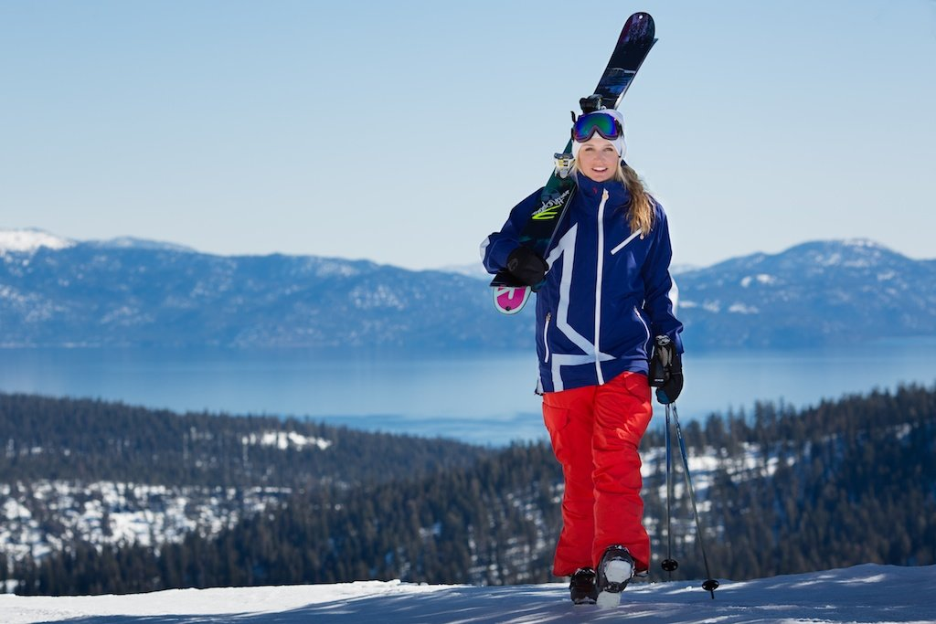 Amie is the epitome of Tahoe Skier Girl; Fun-loving, energetic, goofy, has incredible talent and drive. Now sponsored by K2 Skis, Smith Optics, Perfect Moment, Marker Bindings, Squaw Valley, Discrete Headwear, Arcade Belts and The True Collection, Amie can be found skiing around the world, shooting movie segments and continuing to further the sport.