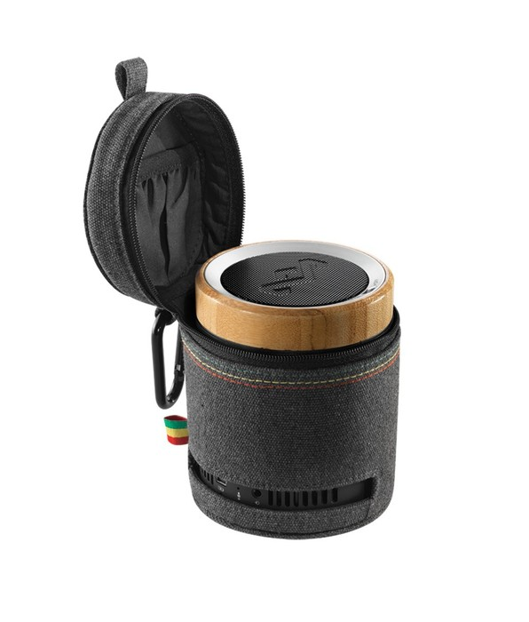 Jamrock is a state of mind with the House of Marley's Chant Bluetooth portable speaker.