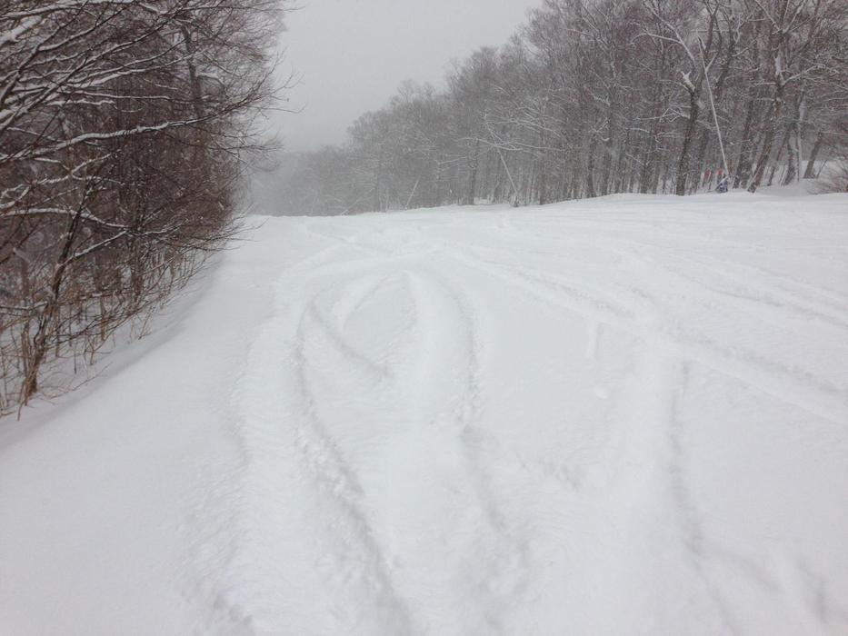 Trails are starting to look good at Stowe Mountain Resort.