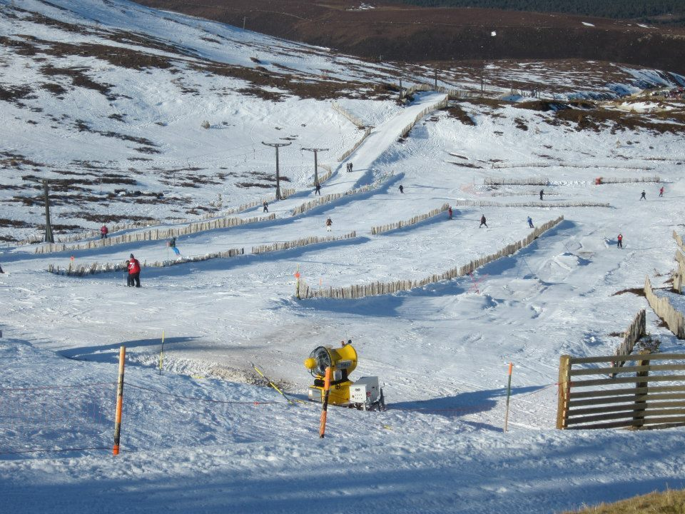 Snow day at Cairngorm Mountain, Scotland. Feb. 18, 2013