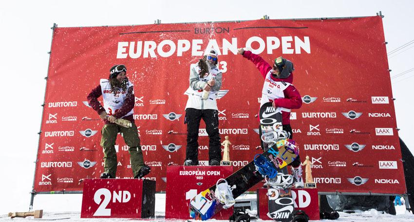 Burton European Open 2013 Laax