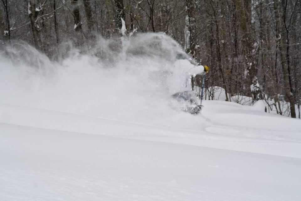 Dry, blower pow at Mont Sutton in Quebec. - ©Mont Sutton/Facebook