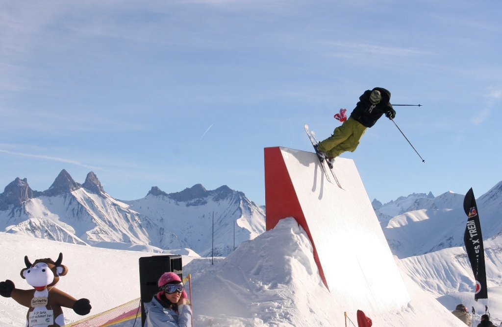 Saint Sorlin d'Arves snowpark
