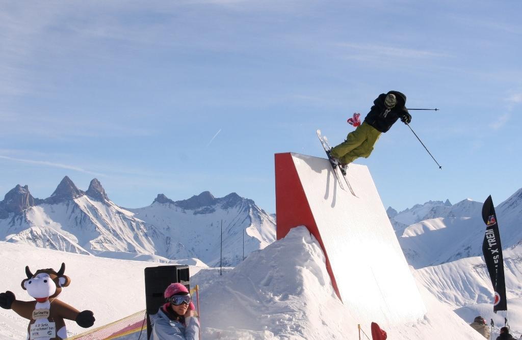 Saint Sorlin d'Arves snowpark - ©E. AXELRAD