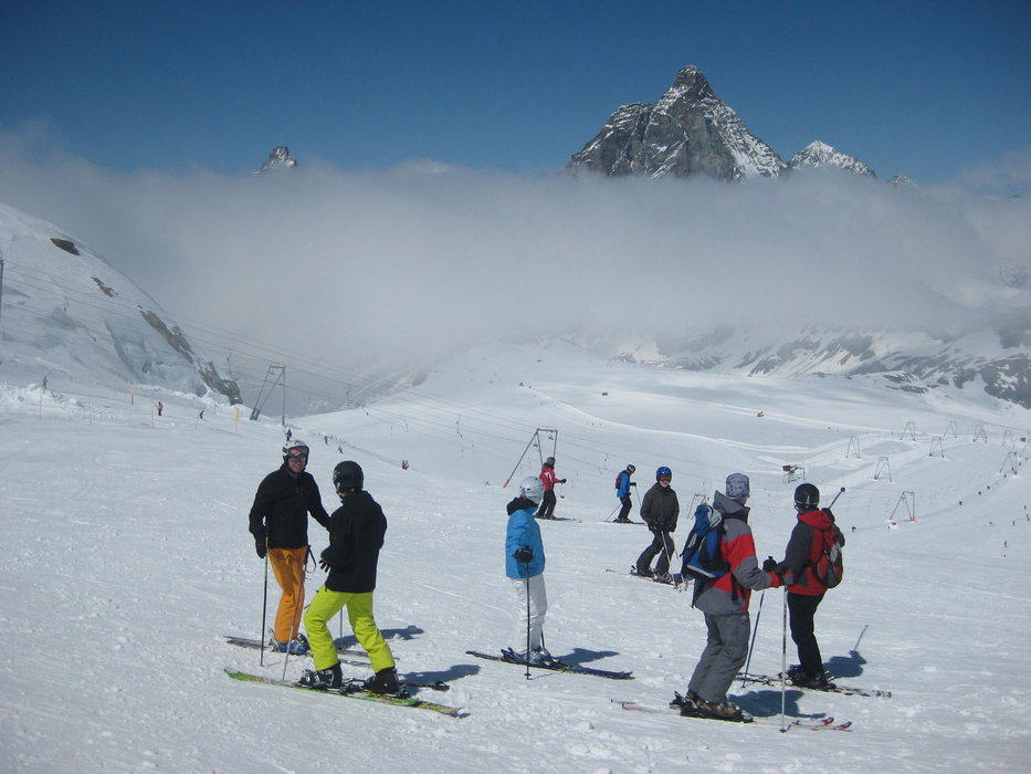May skiing in Zermatt