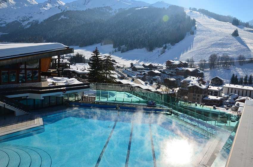 Apr s le ski d tente dans les espaces aquatiques skiinfo for Piscine 2 alpes