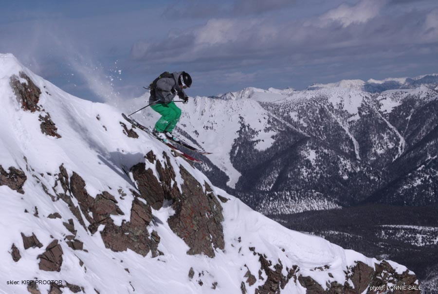Steeps at Big Sky Resort. Photo by Kipp Proctor/Big Sky Resort.