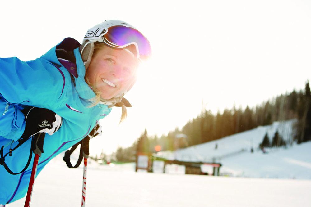 Enjoying the sun and spring skiing at Park City Resort, Utah - ©Park City Chamber | Convention & Visitors Bureau