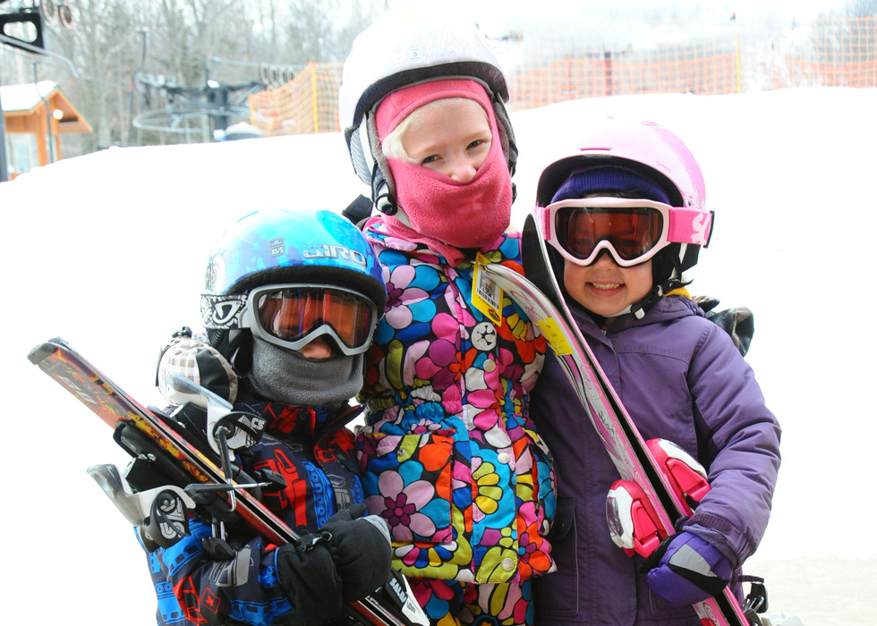 Kids are all smiles at Granite Peak Ski Area.
