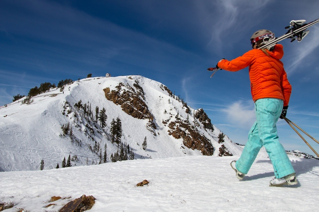 There is plenty of hike-to terrain at Park City Mountain Resort.