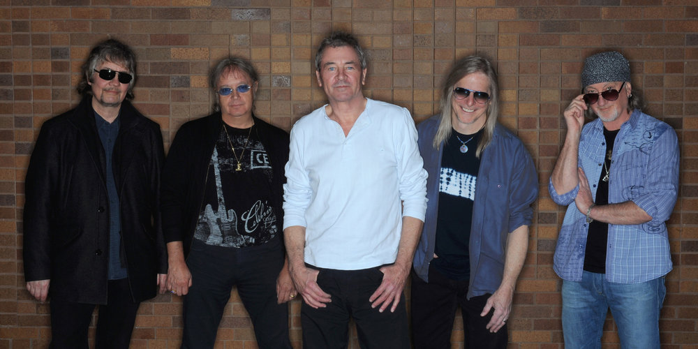 This year's Top of the Mountain act: rock legends Deep Purple