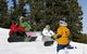 Kids learn to snowboard at Winter Park resort, Colorado