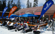 Sierra-at-Tahoe: The Baja Grill serves up Mexican food and beer at the bottom of the West Bowl Express. Photo: Becky Lomax