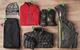 Men's Outfit #2: 1) Dakine Clutch Jacket; 2) Outdoor Research Blackpowder Pants; 3) ) Oakley Unification Down Jacket; 4) Oakley Unification Power Dry Jacket; 5) Outdoor Research Ambit Gloves; 6) Oakley Snowmad Deepie Beanie  - ©Julia Vandenoever