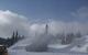 Snow guns and snow plows work the Little Hawk area at Eldora. Photo courtesy Eldora Mountain Resort.