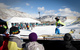 Kids watch as their friends are given a chance to ski and snowboard in the Street course. - ©Sasha Coben