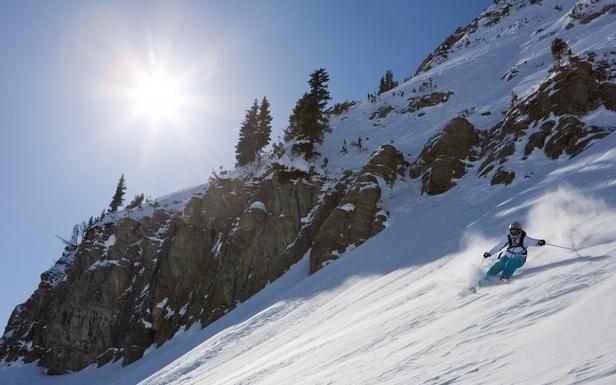 Du pur ski plaisir avec les skis White Doctor - ©Stephane Godin