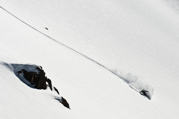 Fresh lines at Valle Nevado, Chile - ©Dakine