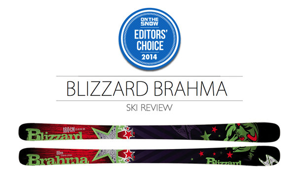 2014 Men's All-Mountain Editors' Choice Ski: Blizzard Brahma