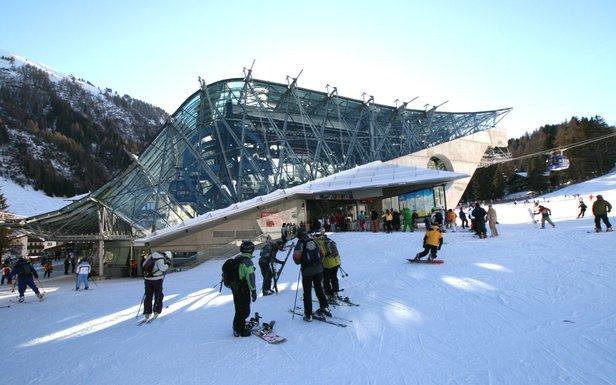 Dolna stacja kolejki linowej Galzigbahn - Sankt Anton am Arlberg - ©TVB St. Anton am Arlberg / Friedrich Schmidt