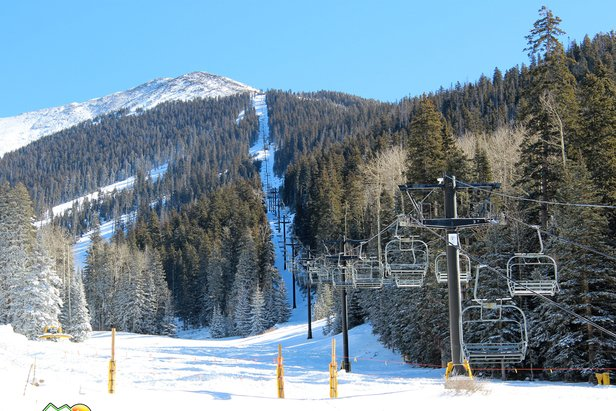 Agassiz Lift opens on Saturday, December 7 - ©Arizona Snowbowl