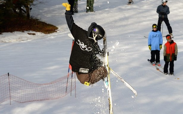 Skier at Butternut - ©Ski Butternut