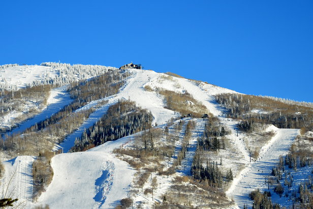 Blue skies in Steamboat Springs. - ©Photo courtesy Shannon Luthy Lukens.