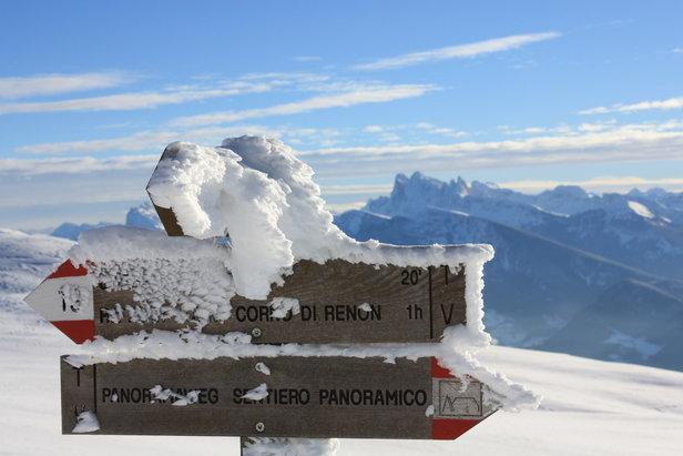 Corno del Renon - ©Schneebericht