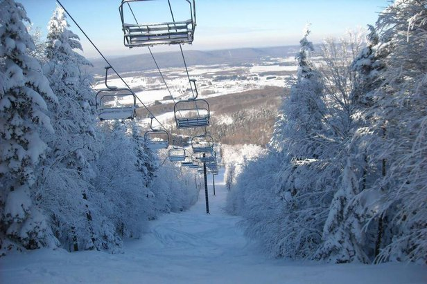 canaan valley snow report