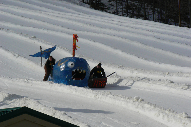 Tubing at Whitetail Resort
