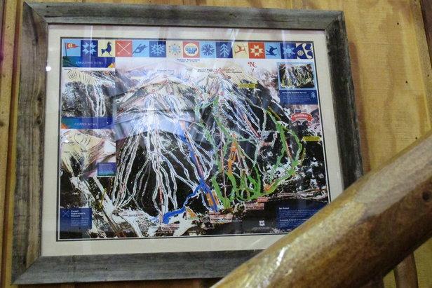 Copper Mountain Resort Resort Photos Trail Map As Art