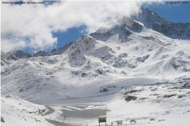Neve d'estate sulle Alpi, Giugno 2014
