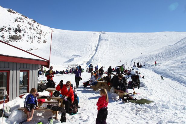 Rekord mye snø på Folgefonna baner vei for god vårski og en god vårsesong. - ©Jan Petter Svendal