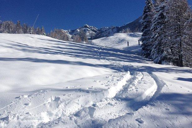 Auch Nassfeld meldete jede Menge Schneefall