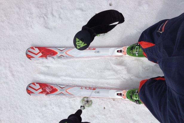 Stortest af K2 Bolt skien - ©Jeppe Hansen