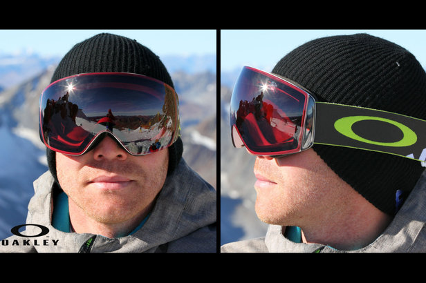 oakley ski goggles flight deck rnee  Oakley Flightdeck