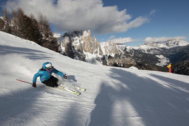 Le migliori 10 piste della Val di Fassa - 8) Skiarea Ciampedie Vigo - ©Val di Fassa / F. Modica