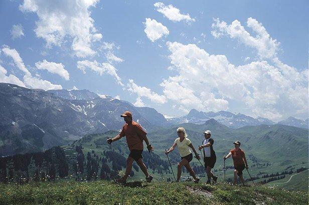 Nordic Walking Adelboden
