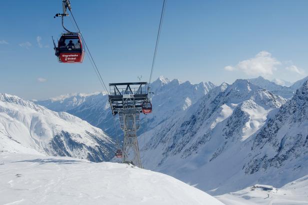 Stubai Glacier cable car, Austria