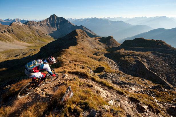 Biken in der Region Lenzerheide