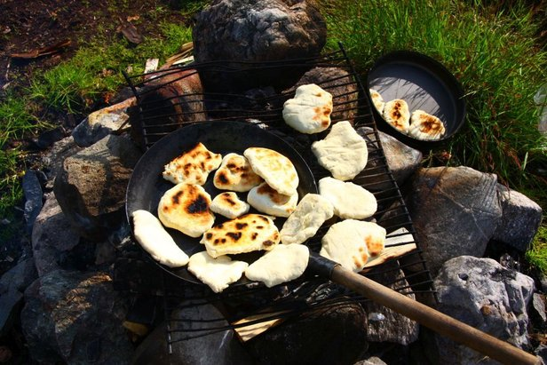 Ernährung auf Trekkingtouren: Leckeres Essen ohne viel Aufwand - ©Frieda Knorke