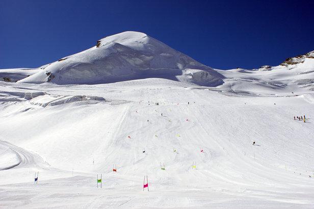 Letni teren narciarski na lodowcu w Saas-Fee - ©Saastal Marketing AG