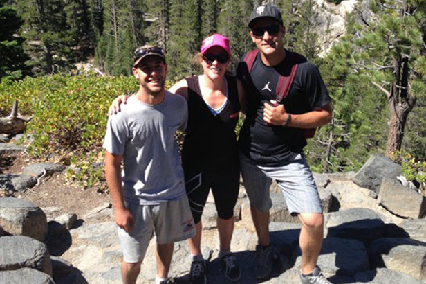 Stacey Cook loves to explore Devils Postpile and Reds Meadow. Here she is at the Postpile with her two brothers.  - ©Stacey Cook