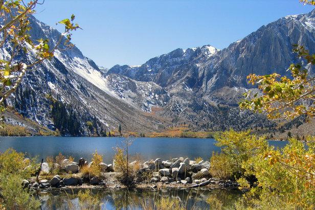 Convict Lake near Mammoth Mountain, CA.