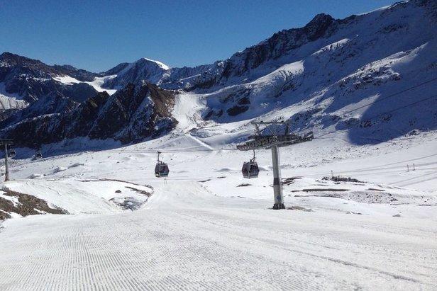 Saisonstart am Kaunertaler Gletscher - ©Kaunertaler Gletscher